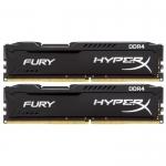 Комплект модулей памяти Kingston HyperX Fury, HX424C15FBK2/16, DDR4, 16 GB