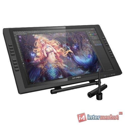 Графический планшет, XP-Pen, Artist 22E Pro, DPI 1920x1080, 1000:1, Чувствительность к нажатию 8192, Рабочая область 476268 мм., Чёрный