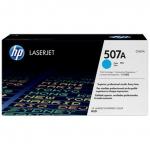 Картридж с тонером HP 507A LaserJet, голубой (CE401A)