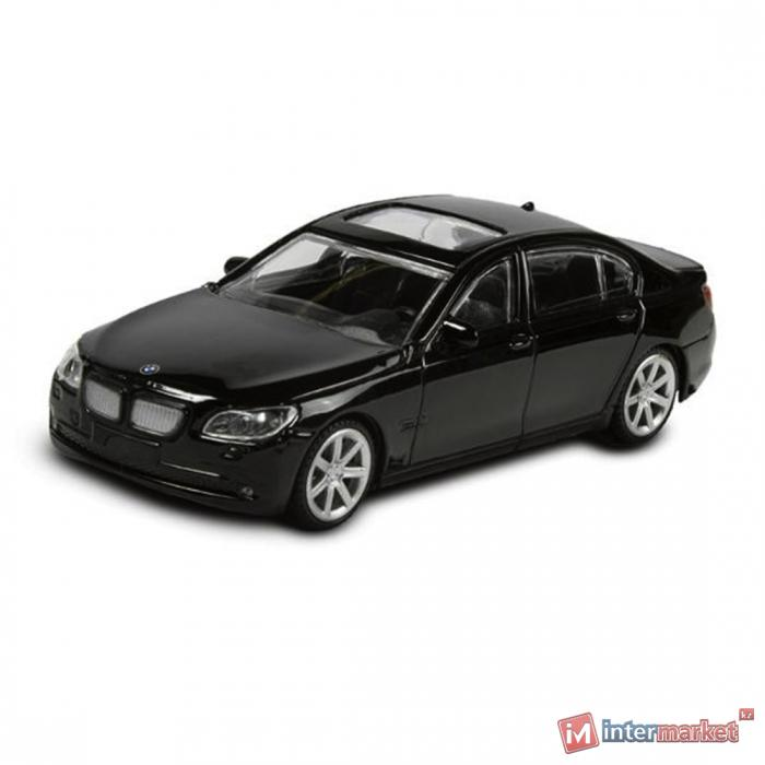 Металлическая машинка RASTAR 1:43 BMW 7 series 37600B, черный