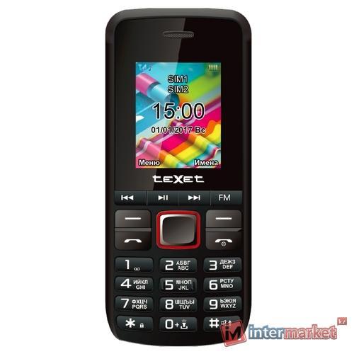 Телефон teXet TM-203, Black