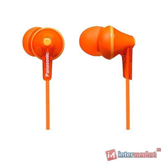 Наушники Вставные Panasonic RP-HJE125ED, Orange