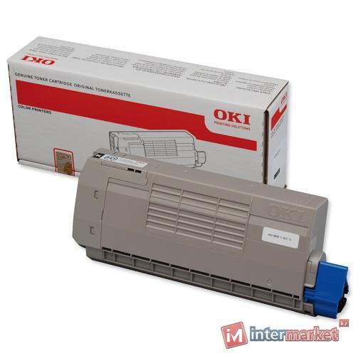 Тонер-картридж OKI TONER-Y-HC-C711-NON EU