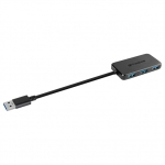 USB HUB 4-port USB 3.0 Transcend HUB2, Black