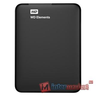 Жесткий диск Western Digital WD Elements Portable 1 TB (WDBUZG0010BBK-EESN)